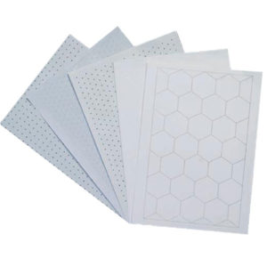 Maths Paper A4 Hexagonal 40mm Grid
