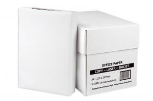 White box paper