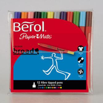Berol-Colourbroad-12-pack