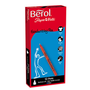 Berol-Handwriting-Pens-Blue