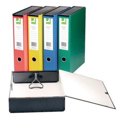 Box Files Foolscap Coloured