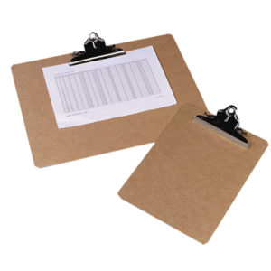 Masonite Clipboards