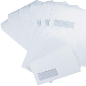 Envelopes White