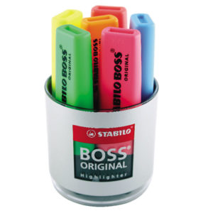 Stabilo Boss Original Highlighters