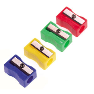 Wedge Pencil Sharpener Plastic