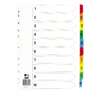 Tabbed-Indexes-1-10-Multicoloured