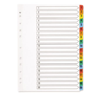 Tabbed-Indexes-1-20-Multicoloured