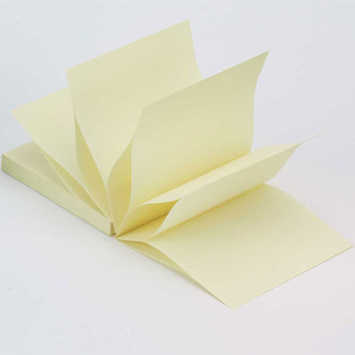 Z-Notes 75mm x 75mm Yellow