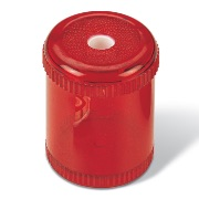 Plastic Barrel Pencil Sharpener