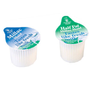 Millac Maid Milk Pots
