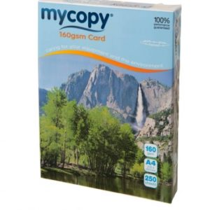 My Copy White Card 160gsm