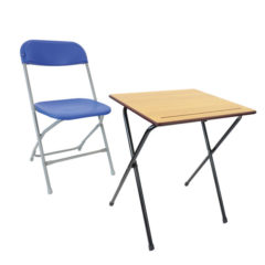 Straight Back Desk Package COVID-19