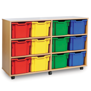 12 Tray Extra Deep Storage Unit