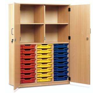 24 Tray Cupboard – Full doors
