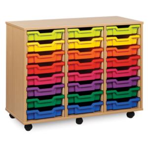 24 Tray Storage Unit
