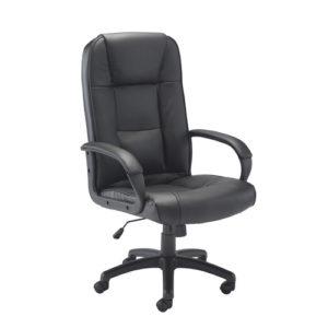 Keno Leather Chair – Black