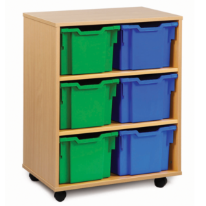 6 Tray Extra Deep Storage Unit