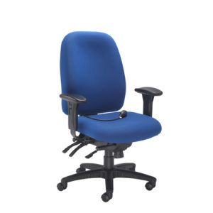 Vista High Back Chair – Royal Blue