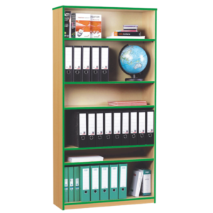 Coloured Edge Large Bookcase