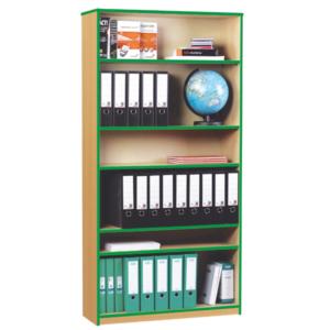 Coloured Edge Large Bookcase