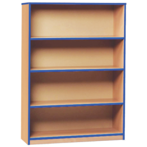 Coloured Edge Medium Bookcase