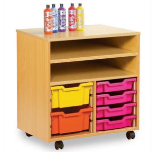 Double Combination Shelf Unit