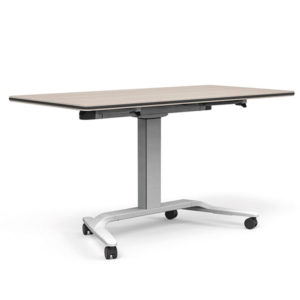 Talent Height Adjustable Flip-Top + Whiteboard