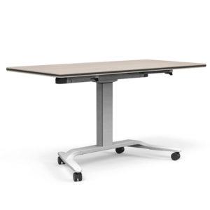 Talent Height Adjustable Flip-Top + Whiteboard