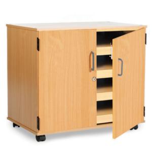 Mobile Paper Storage Door Unit