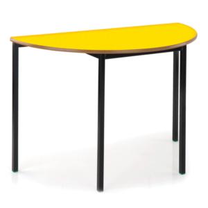 Semi Circular Table PU