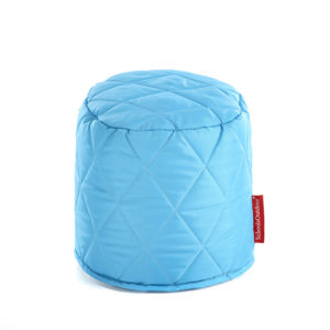 Small Round Quilted Poufees x 6