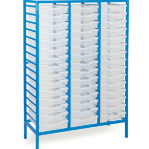 Static Mobile 45 Tray Storage Unit