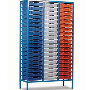 Static Mobile 57 Tray Storage Unit