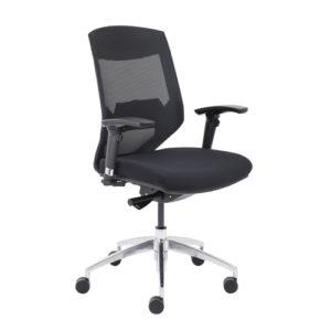 Vogue Medium Back Chair – Black