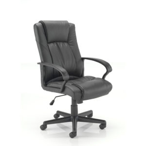 Casino II Leather Chair – Black