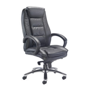 Montana Executive Leather Chair – Black