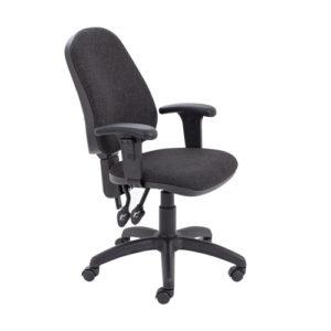 Calypso II High Back Chair with Adjustable Arms