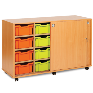 Extra Deep Storage Cupboard With Doors