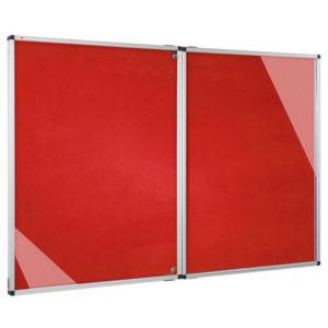 Felt Tamperproof Noticeboard – Double Door