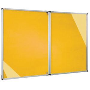 Fire Retardant Noticeboard – Double Door