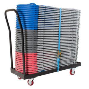 Zlite Flat Bed Storage Trolley 40 Capacity