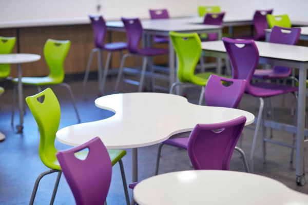 canteen seating and fit out