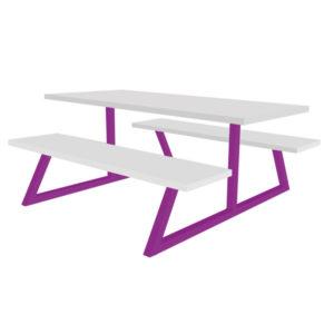 Ova Bench Table