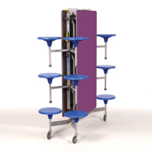Foldable Canteen Table Seating