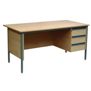 Single Teachers Pedestal Desk
