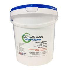Disinfectant Wipes Tub 500