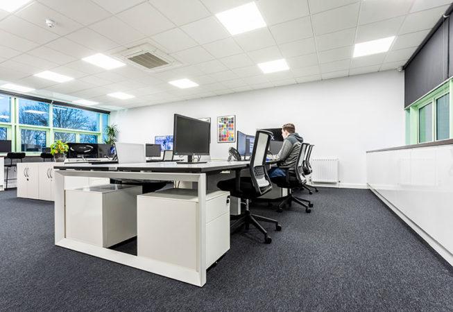 Jacobs office refurbishment